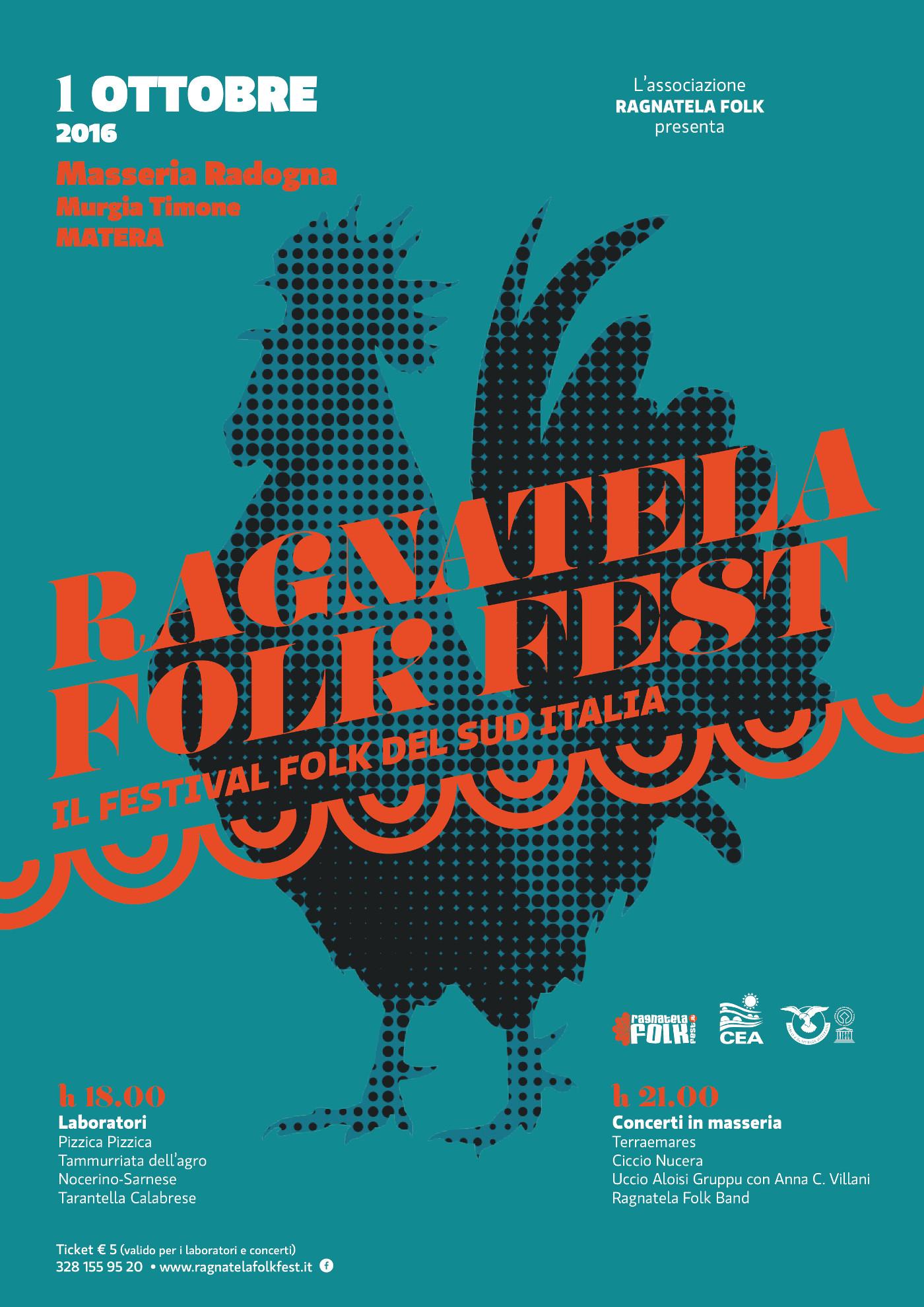 ragnatela folk fest 2016 grafica