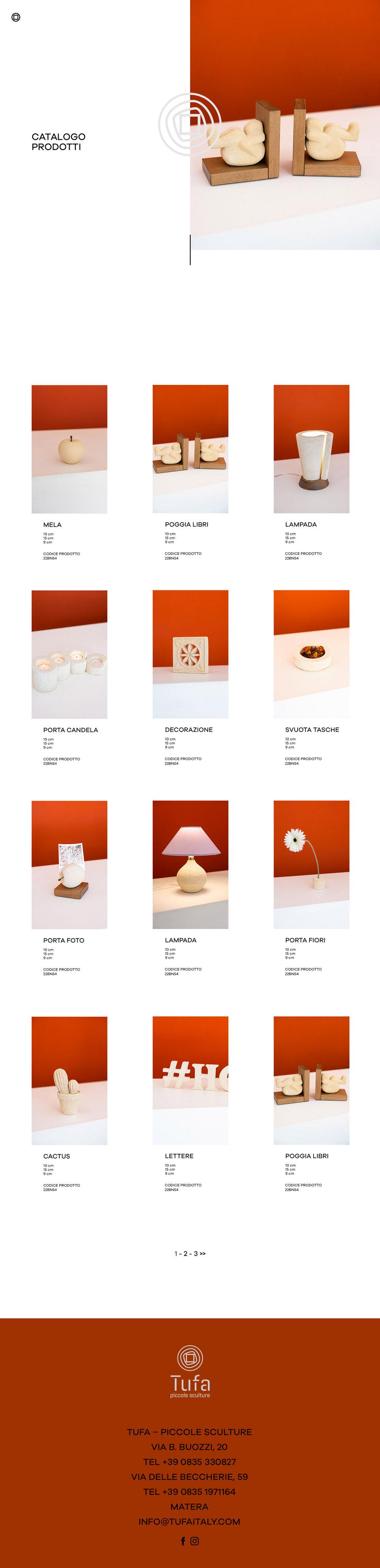 tufa italy web design ego55